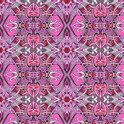 The Old Double Cross fabric by edsel2084 on Spoonflower - custom fabric