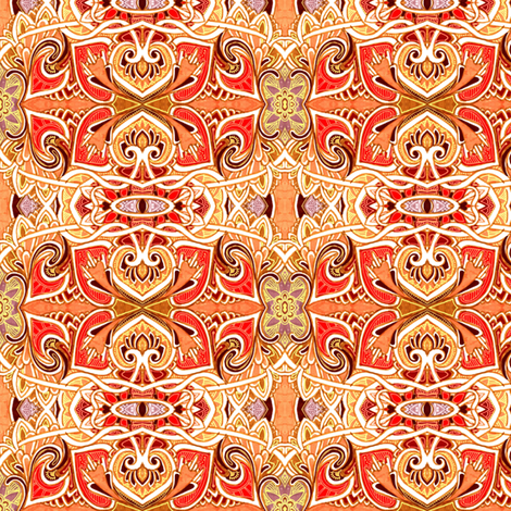 Then We Rode the Carousel fabric by edsel2084 on Spoonflower - custom fabric