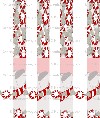 Round about the Peppermint stripe