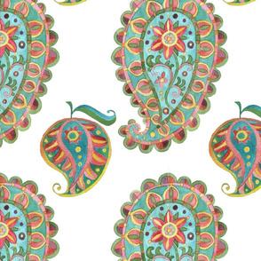 Mango paisley