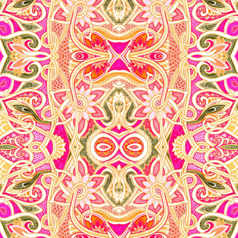 Thoughts of Spring  fabric by edsel2084 on Spoonflower - custom fabric