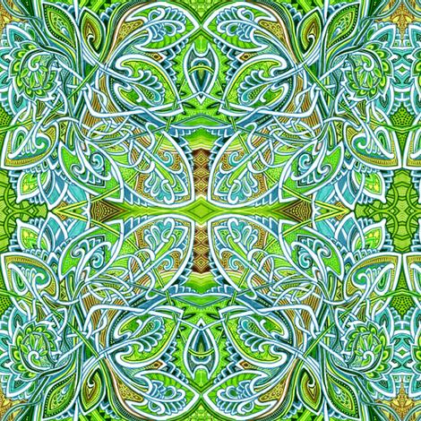 Rain Forest Paradise fabric by edsel2084 on Spoonflower - custom fabric