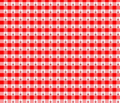 Père Noël Vichy fabric by manureva on Spoonflower - custom fabric