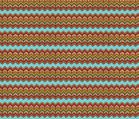 Believe_chevron_brown fabric by mindsthatcreate on Spoonflower - custom fabric