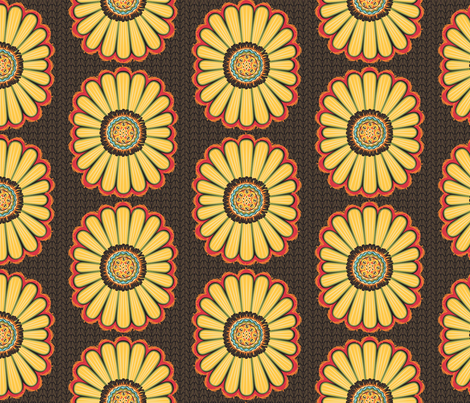 Believe_main-brown fabric by mindsthatcreate on Spoonflower - custom fabric