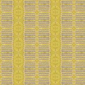 Peasant Lace - yellow/purple