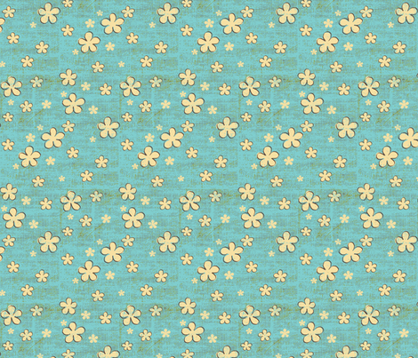 Believe_tone_brown2 fabric by mindsthatcreate on Spoonflower - custom fabric