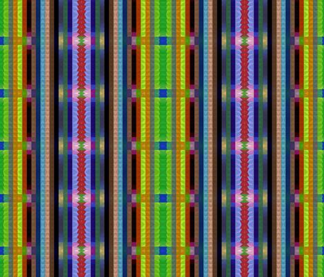 Interlocking Blocks of Color fabric by anniedeb on Spoonflower - custom fabric