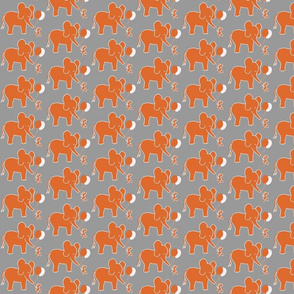 Let's be Friends in Orange and Grey