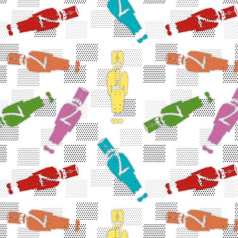 Fabric_Little_Soldier_color fabric by vannina on Spoonflower - custom fabric