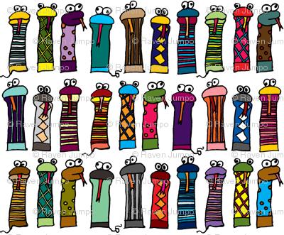 Slithery Socks