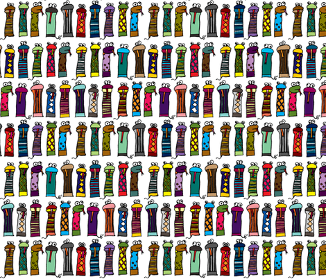 Slithery Socks fabric by ravenous on Spoonflower - custom fabric