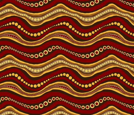 snakes fabric by elarnia on Spoonflower - custom fabric