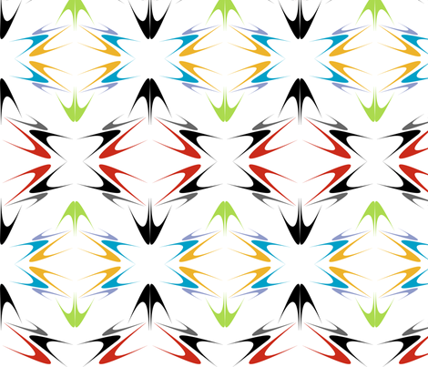 Arrow Points fabric by naenaesis on Spoonflower - custom fabric
