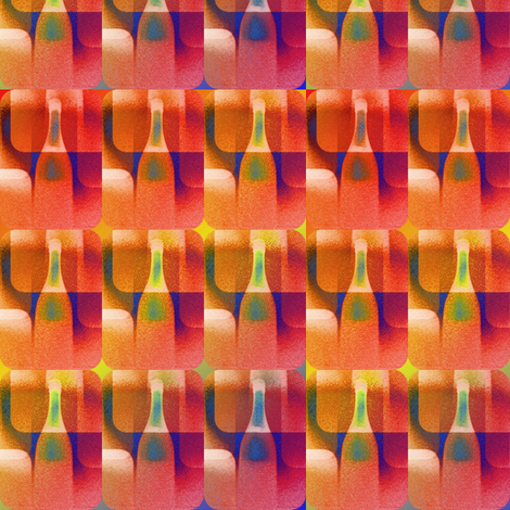 bright bottles fabric by y-knot_designs on Spoonflower - custom fabric