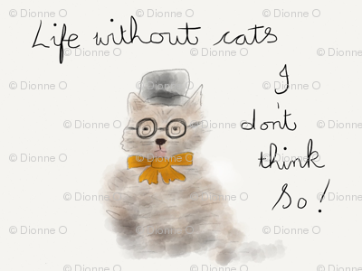 life without cats