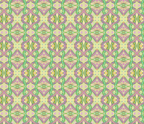 Snakes fabric by linsart on Spoonflower - custom fabric