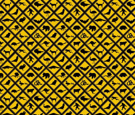 down_under_crossings fabric by roxiespeople on Spoonflower - custom fabric