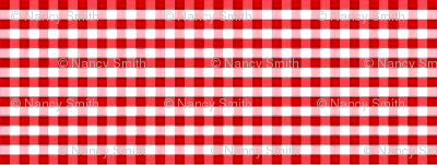 red white simple check