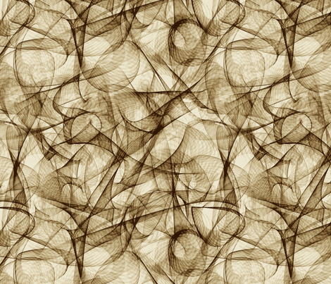 sepia net fabric by weavingmajor on Spoonflower - custom fabric