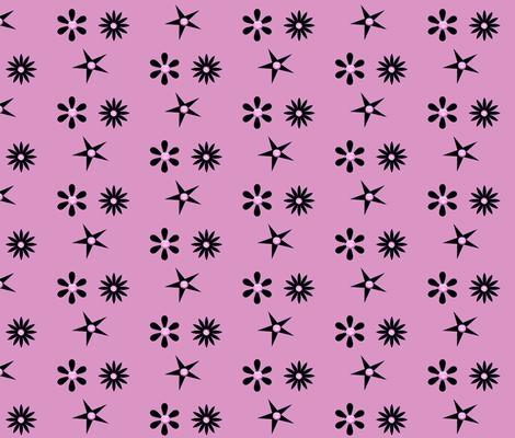 SCOTTY'S PINK TWILIGHT fabric by bluevelvet on Spoonflower - custom fabric