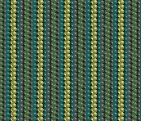 bead strings fabric by kociara on Spoonflower - custom fabric