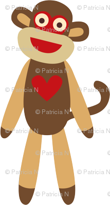 Cute Sock Monkey
