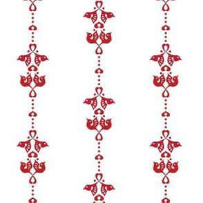 Lovebird red stripe