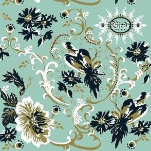 birds of paradise / spoonflower