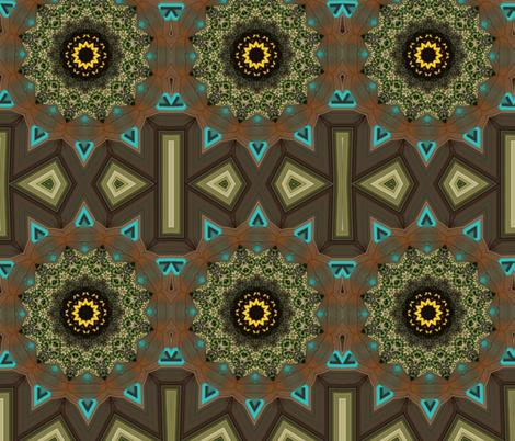 Triangle fabric by ekeskleurdesign on Spoonflower - custom fabric
