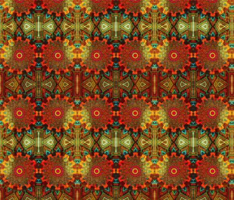 round and round fabric by ekeskleurdesign on Spoonflower - custom fabric