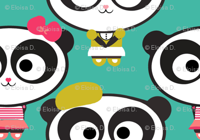 Panda Blu