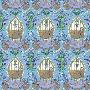 Slothy majesty-blue