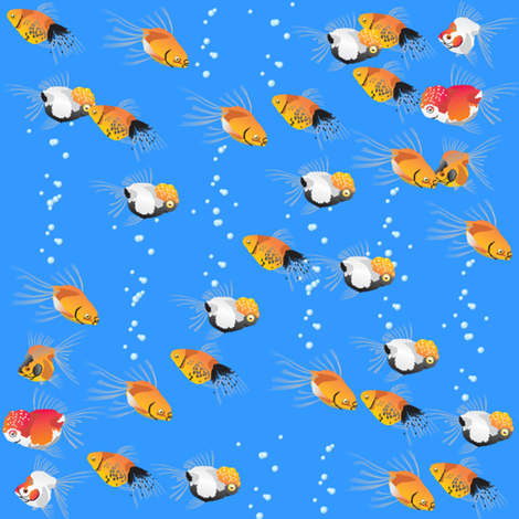 fish fabric by krs_expressions on Spoonflower - custom fabric