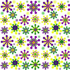 MARDI GRAS FLOWERS