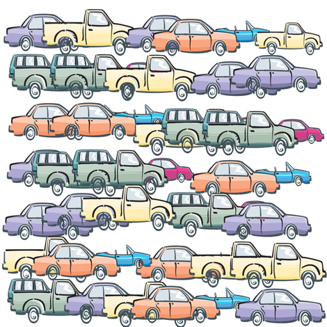 traffic fabric by krs_expressions on Spoonflower - custom fabric