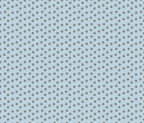 Companion Cube on Blue fabric by cola82 on Spoonflower - custom fabric