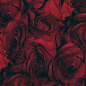 Red Roses With the Blues