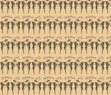 Ballet Russe fabric by shelleycowan on Spoonflower - custom fabric