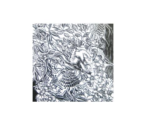aust_sponflower_design fabric by bev_ on Spoonflower - custom fabric