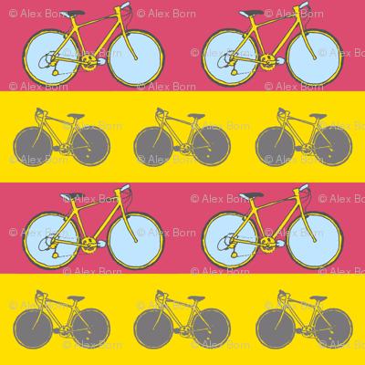 bicycle stripe print