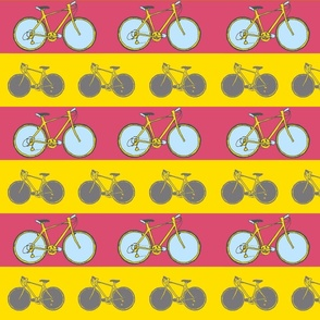 bicycle stripe print