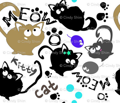 MEOW  cute kitty cat
