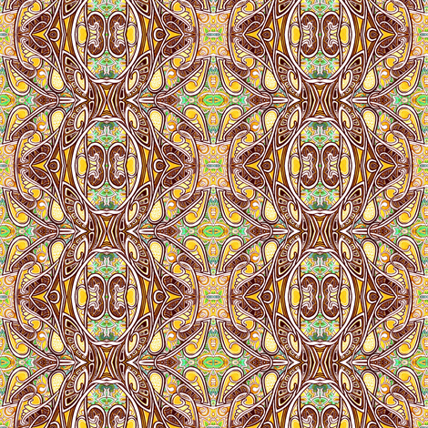 Coco Nouveau fabric by edsel2084 on Spoonflower - custom fabric