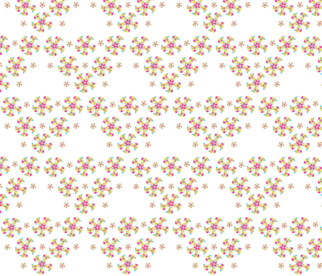 floral fabric by nav_k on Spoonflower - custom fabric