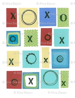 xoxo squares
