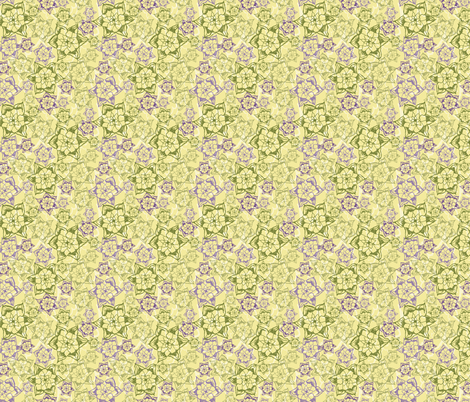 Desert Agave Rosette fabric by joyfulroots on Spoonflower - custom fabric