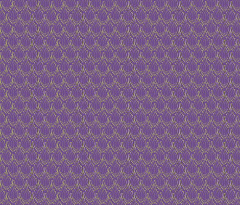 Purple Agave Leaf fabric by joyfulroots on Spoonflower - custom fabric