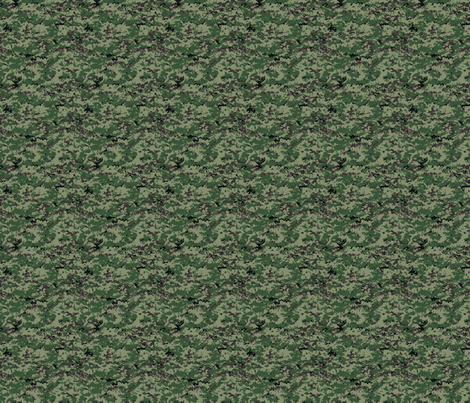 Sixth Scale Russian SURPAT SpecOps Digital Camo fabric by ricraynor on Spoonflower - custom fabric