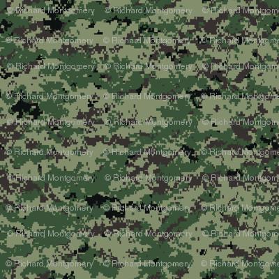Russian Surpat Specops Digital Camo Fabric Ricraynor